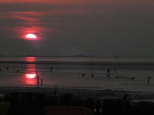 Sonnenuntergang über Neuwerk 2